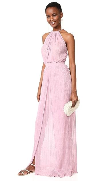 Just Cavalli Metallic Gown
