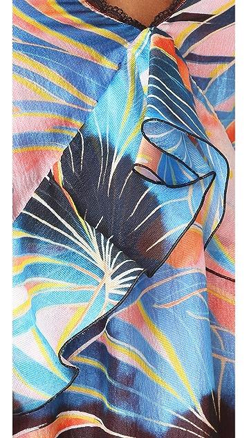 Just Cavalli Palm Maxi Dress