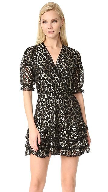 Just Cavalli Leopard Ruffle Dress
