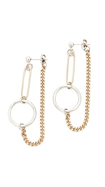 Justine Clenquet Lita Earrings