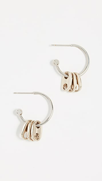 Justine Clenquet Lauren Earrings