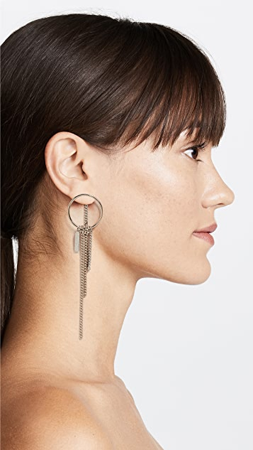 Justine Clenquet Lily Earrings