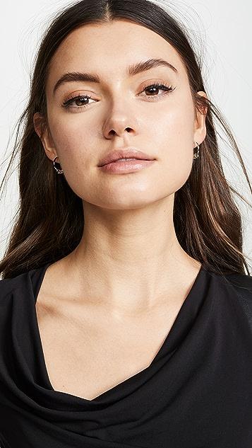 Justine Clenquet Mini Gloria Hoop Earrings