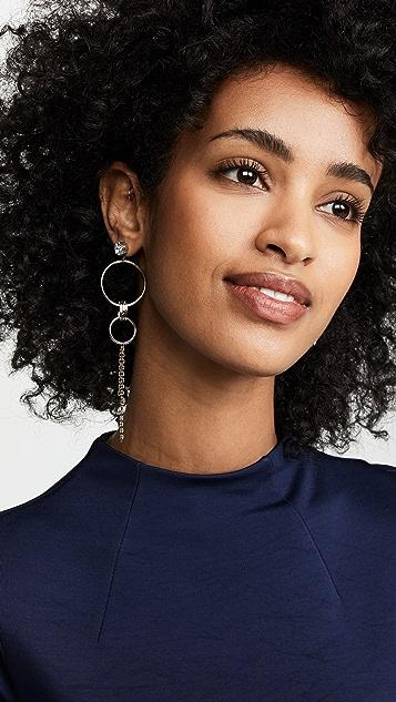 Justine Clenquet Jadin Earrings