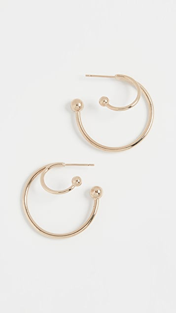 Justine Clenquet Diana Earrings