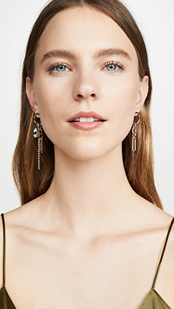 Justine Clenquet Paloma Earrings