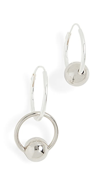 Justine Clenquet Lana Hoop Earrings