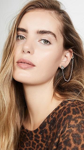 Justine Clenquet Hunter Earring & Earcuff Set