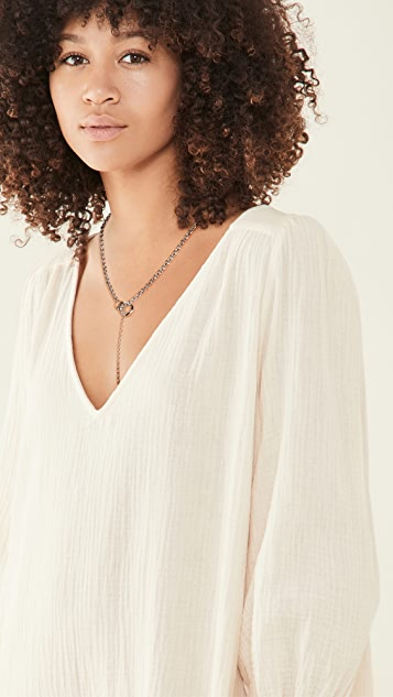 Justine Clenquet Ray Necklace