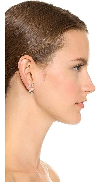 Joanna Laura Constantine Crisscross Earrings