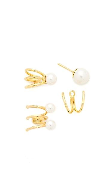 Joanna Laura Constantine Nail Ear Cuff Set