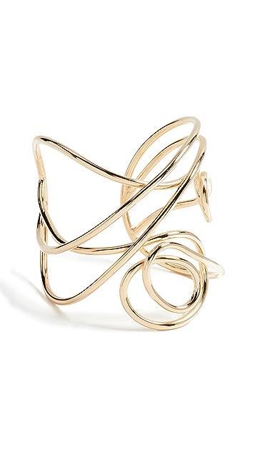 Joanna Laura Constantine Multi Knot Statement Cuff Bracelet