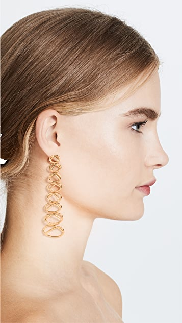 Joanna Laura Constantine Knot Dangling Earrings