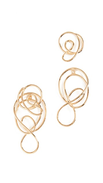 Joanna Laura Constantine Multi Knot Earrings