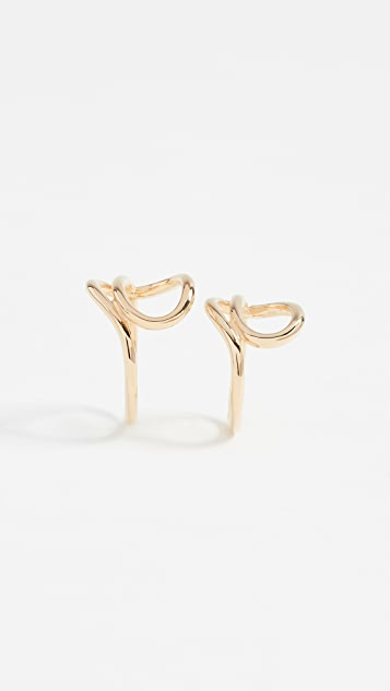 Joanna Laura Constantine Knot Ring Set