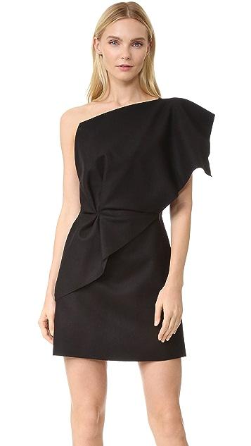 d58f13e8c0d3 Jacquemus One Shoulder Ruffle Dress | SHOPBOP