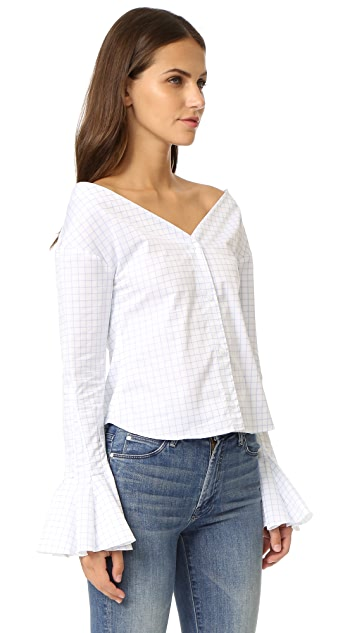 Jacquemus Cropped Blouse