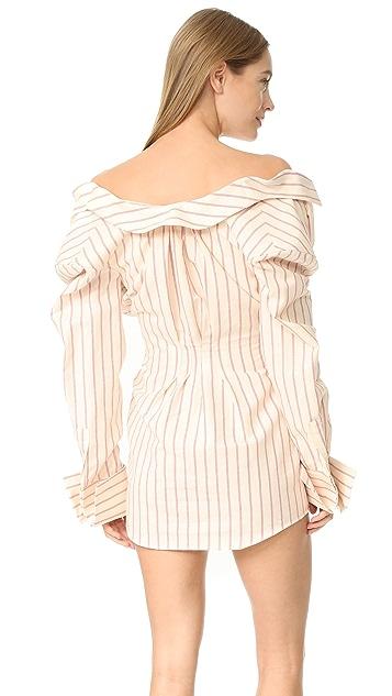 Jacquemus Collared Shirtdress