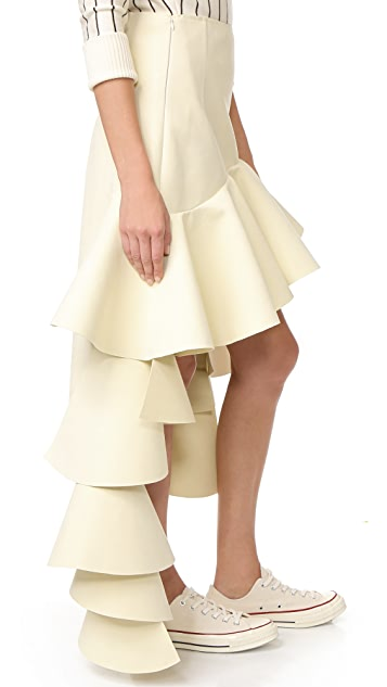 Jacquemus Tiered Skirt