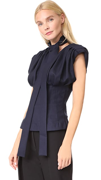 Jacquemus Pleated Top