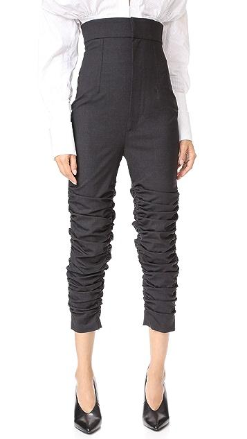 Jacquemus Ruched Pants
