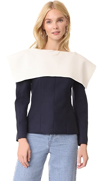 Jacquemus Colorblock Top