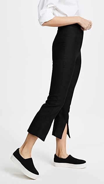 Jacquemus Slit Bottom Cropped Pants