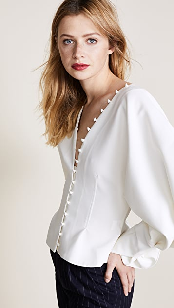 Jacquemus Button Front Blouse