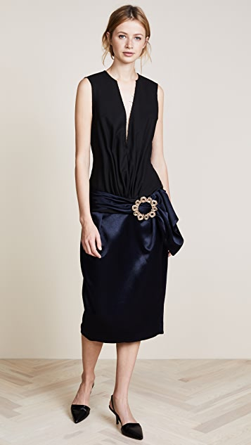 Jacquemus V Neck Dress