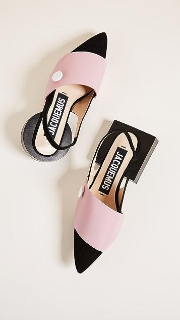 Jacquemus Les Boutons Sandals