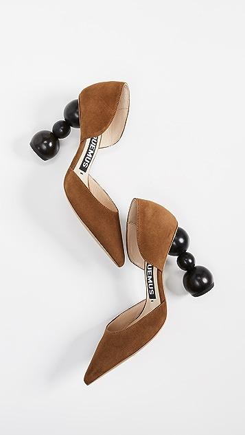 Jacquemus Les Chaussures Sahil d'Orsay Pumps