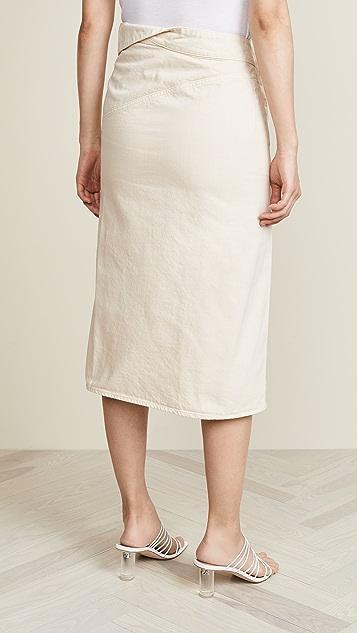 Jacquemus Flap Skirt