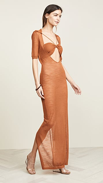 e1ecb89d5439 Jacquemus Long Piana Dress | SHOPBOP