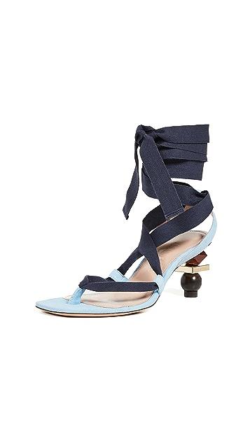 Jacquemus Les Capri Sandals
