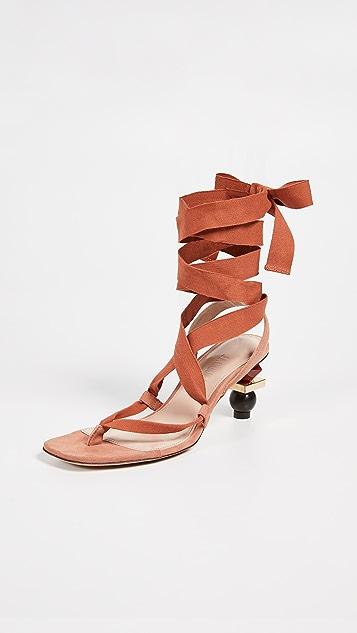 Jacquemus Les Sandales Capri Sandals