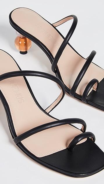 Jacquemus Les Noli Slide Sandals