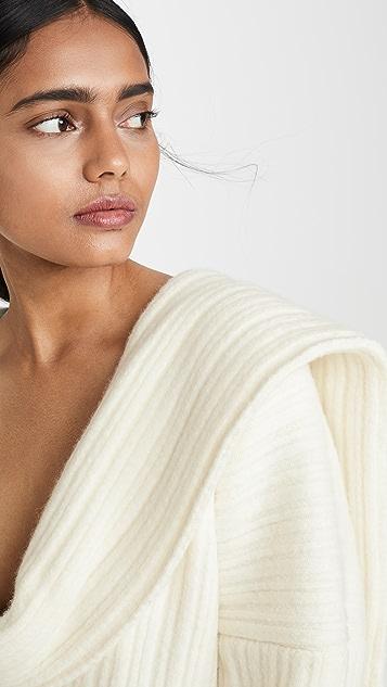 Jacquemus Ahwa Mesh Sweater