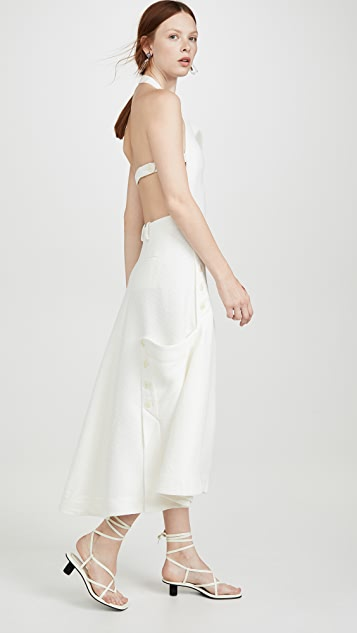 Jacquemus Apron Dress