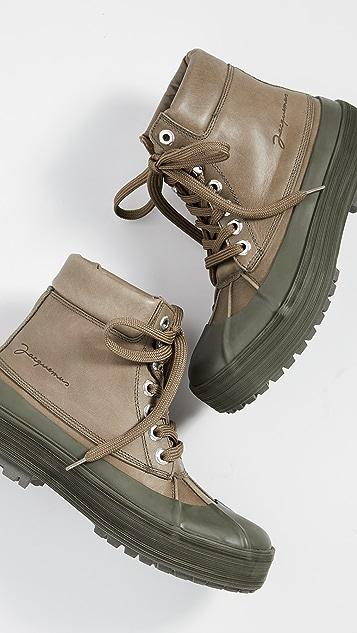 Jacquemus Les Meuniers Hautes 靴子