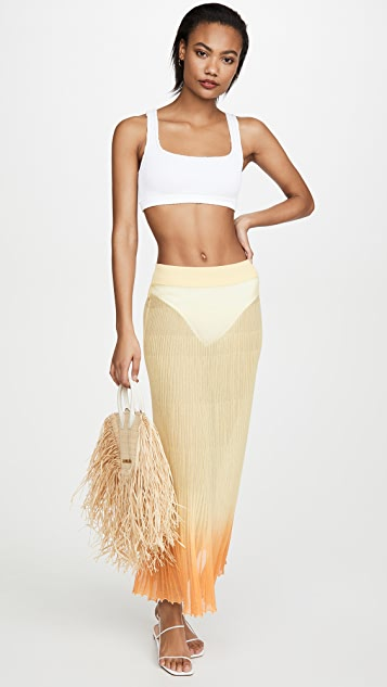 Jacquemus The Long Helado Skirt