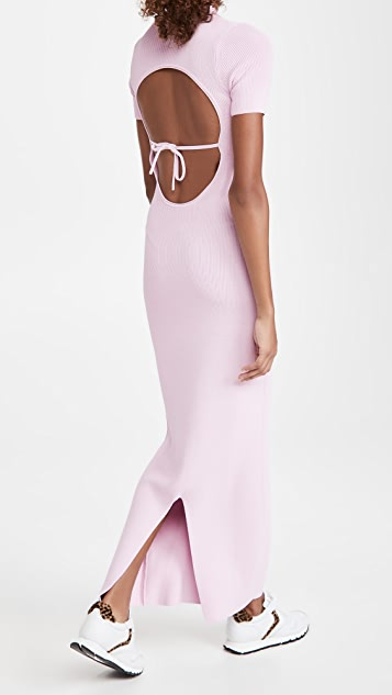 Jacquemus 针织马球衫式连衣裙