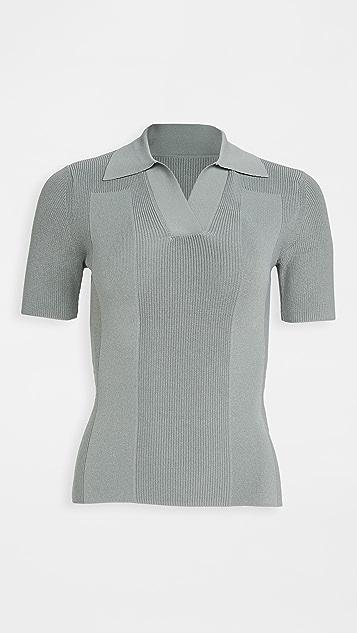 Jacquemus 缝线马球衫