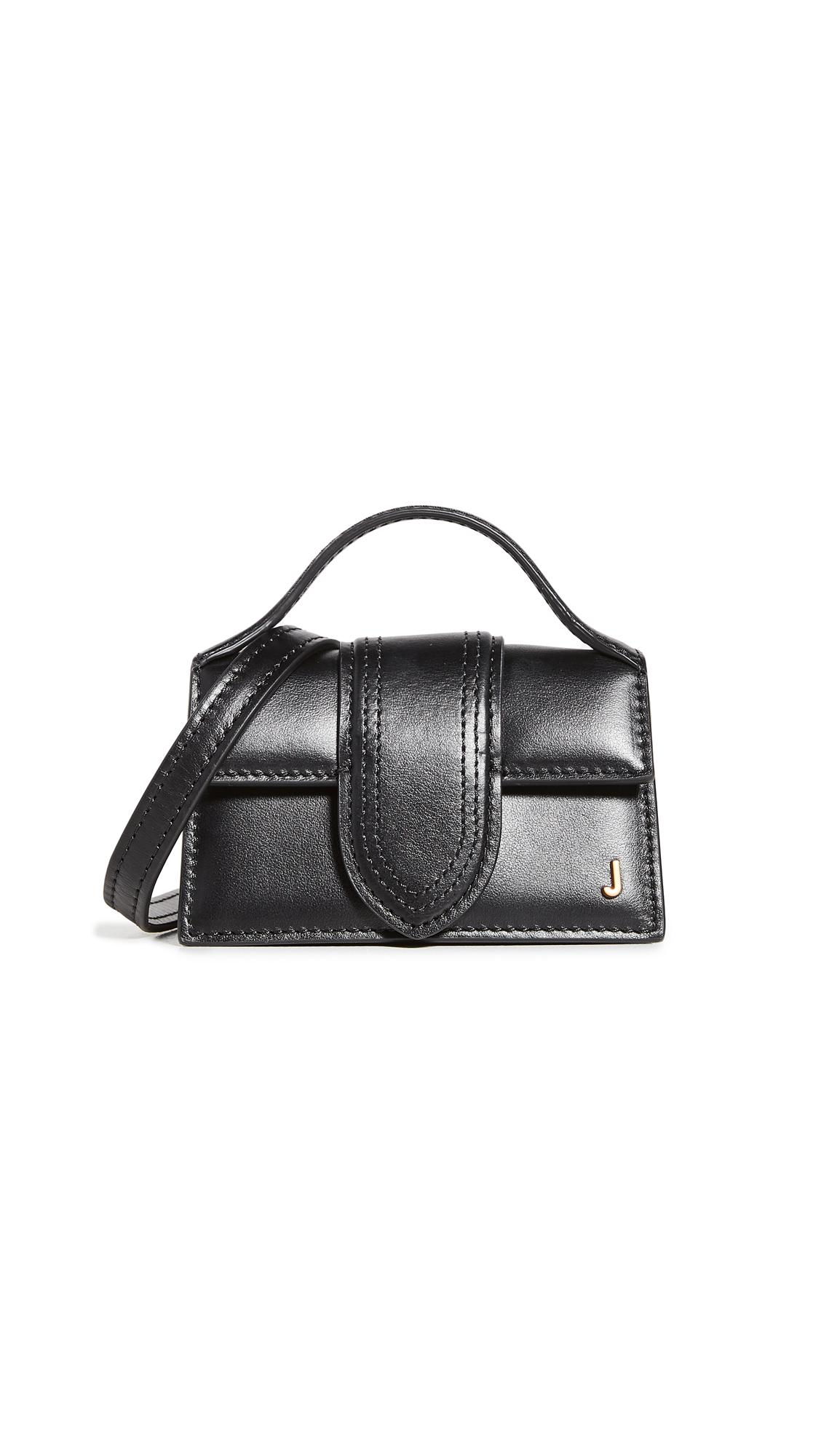 Jacquemus Black Le Petit Bambino Leather Mini Bag