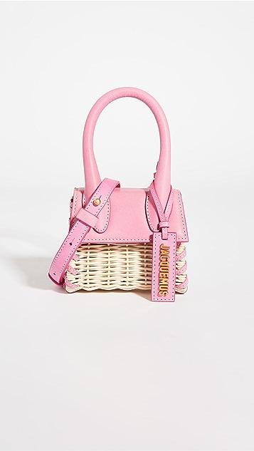 Jacquemus Le Chiquito Straw Bag