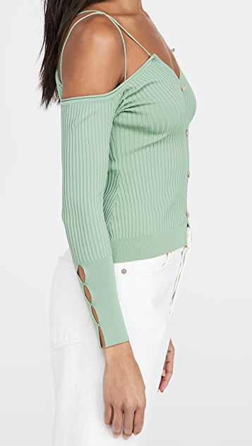 Jacquemus Twisted Cardigan