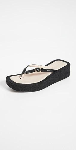 Jacquemus - Les Tatanes Lin 凉鞋