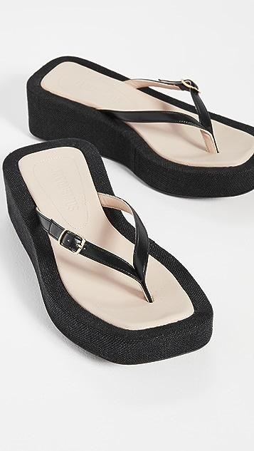 Jacquemus Les Tatanes Lin 凉鞋