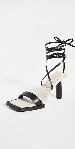 Jacquemus - Les Carre Rond Sandals
