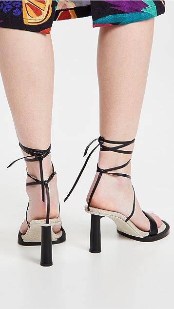 Jacquemus Les Carre Rond 凉鞋