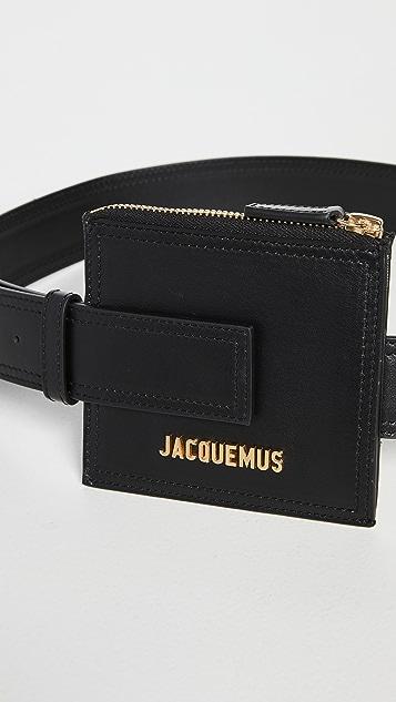 Jacquemus La Ceinture Carre Wallet 腰带